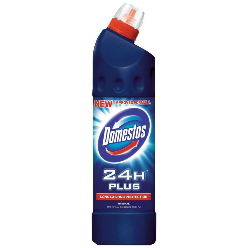 Domestos Płyn do WC 1.25L 24H Original Plus (granatowy)