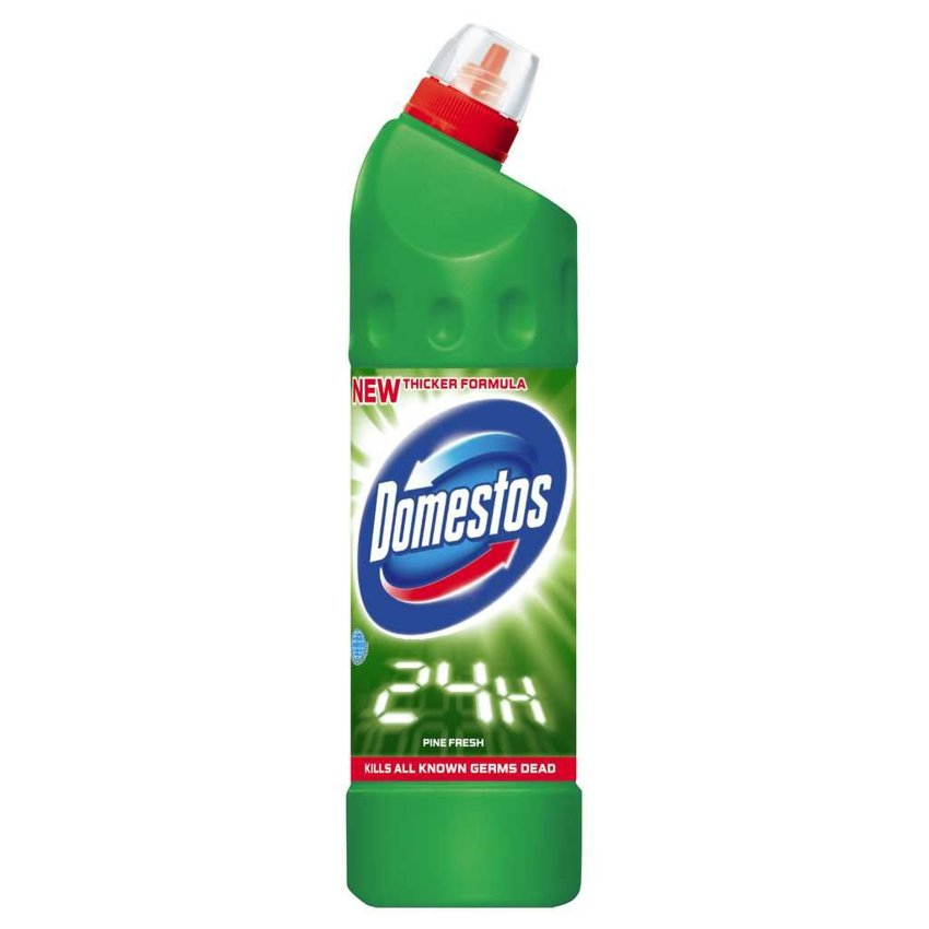 Domestos Płyn do WC 750ml 24H Pine Fresh (zielony)