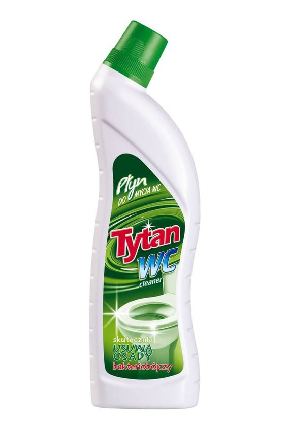 Tytan Płyn do WC 700ml Zielony